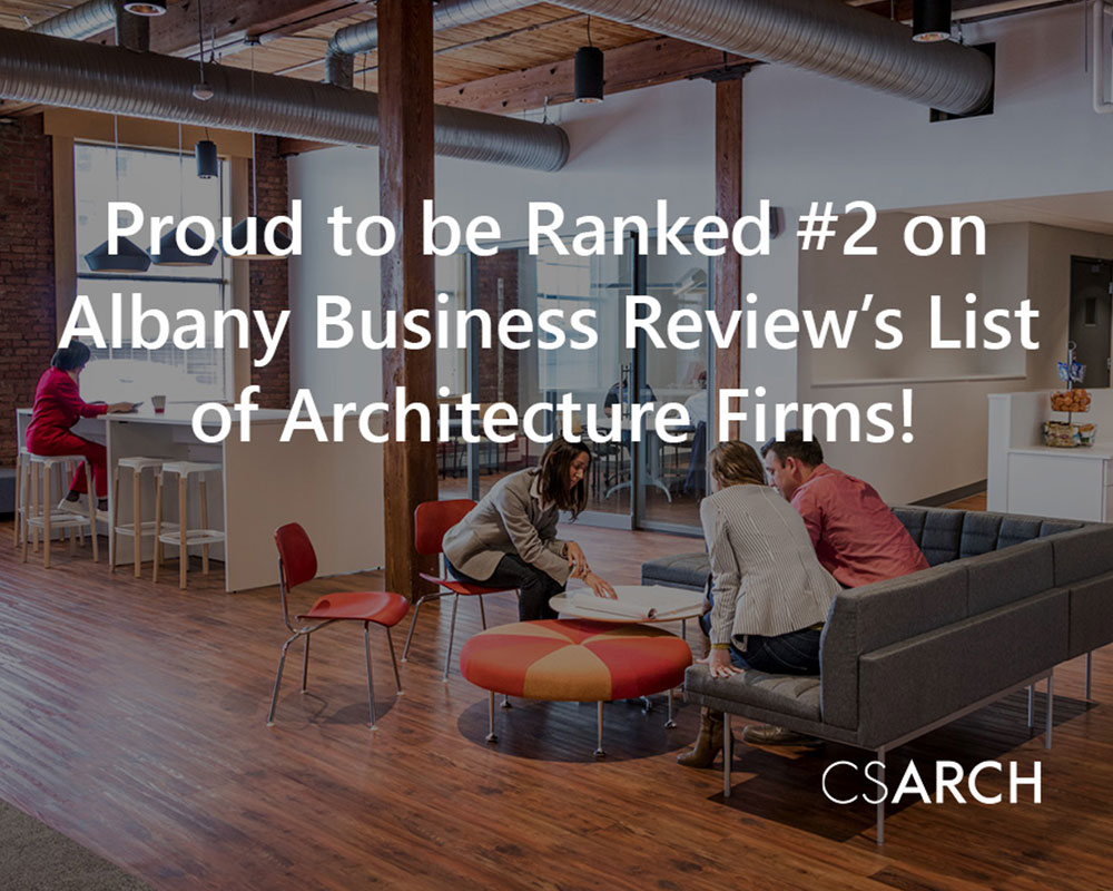 CSArch Ranked #2 on Albany Business Review's List