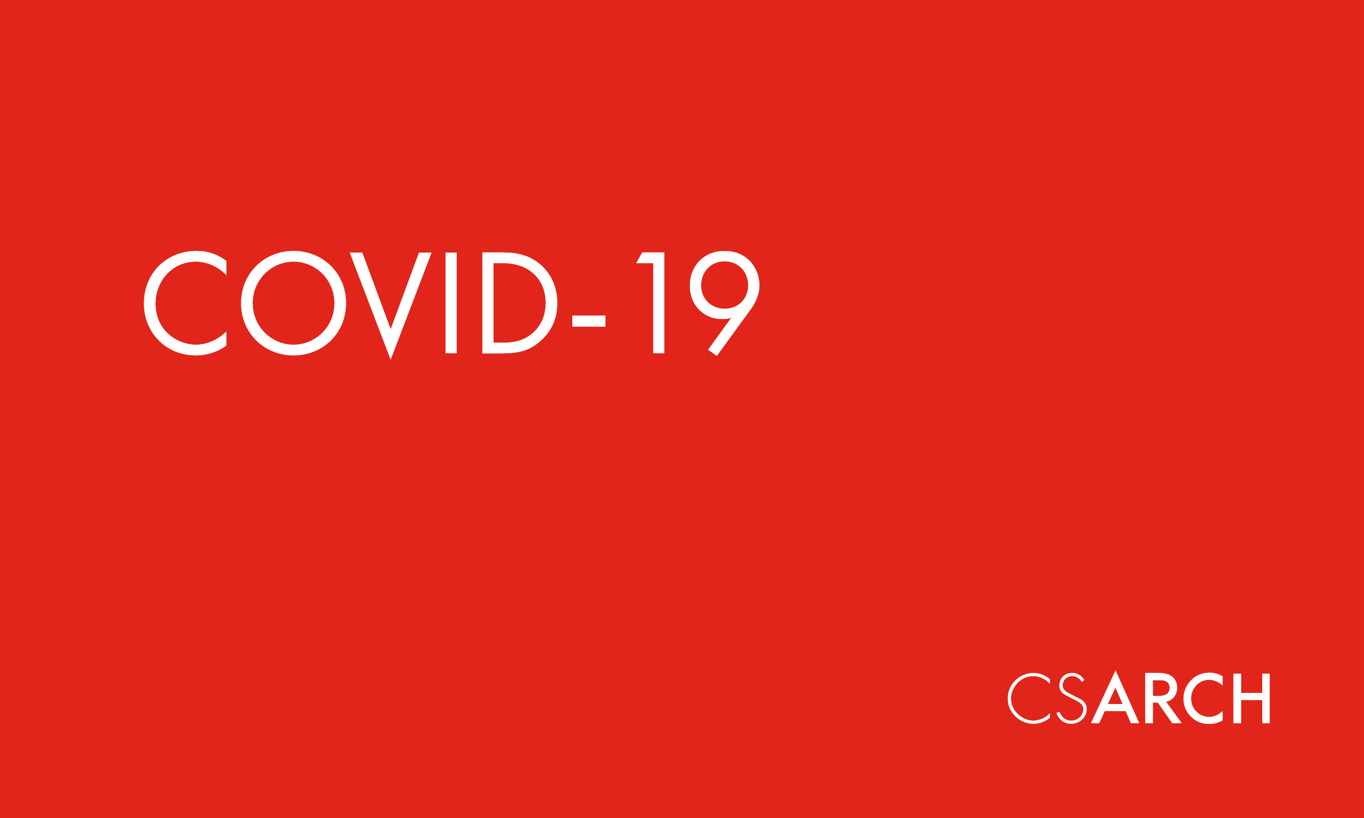 A Message About COVID-19