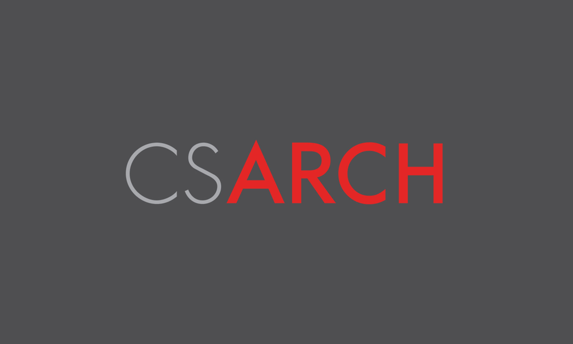 CSArch Refreshes Brand with New Logo