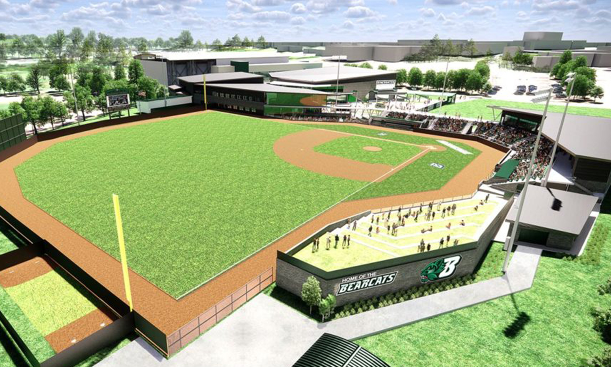 CSArch Partners on World-Class Baseball Stadium Complex at Binghamton University