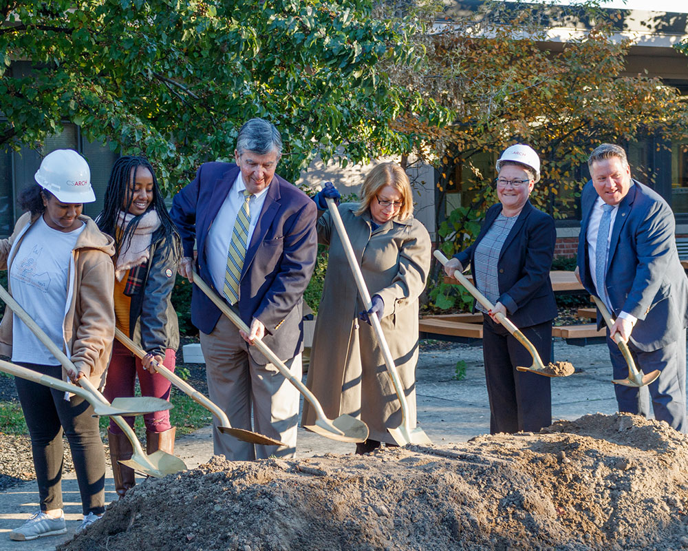 Menands School District Breaks Ground on Capital Project