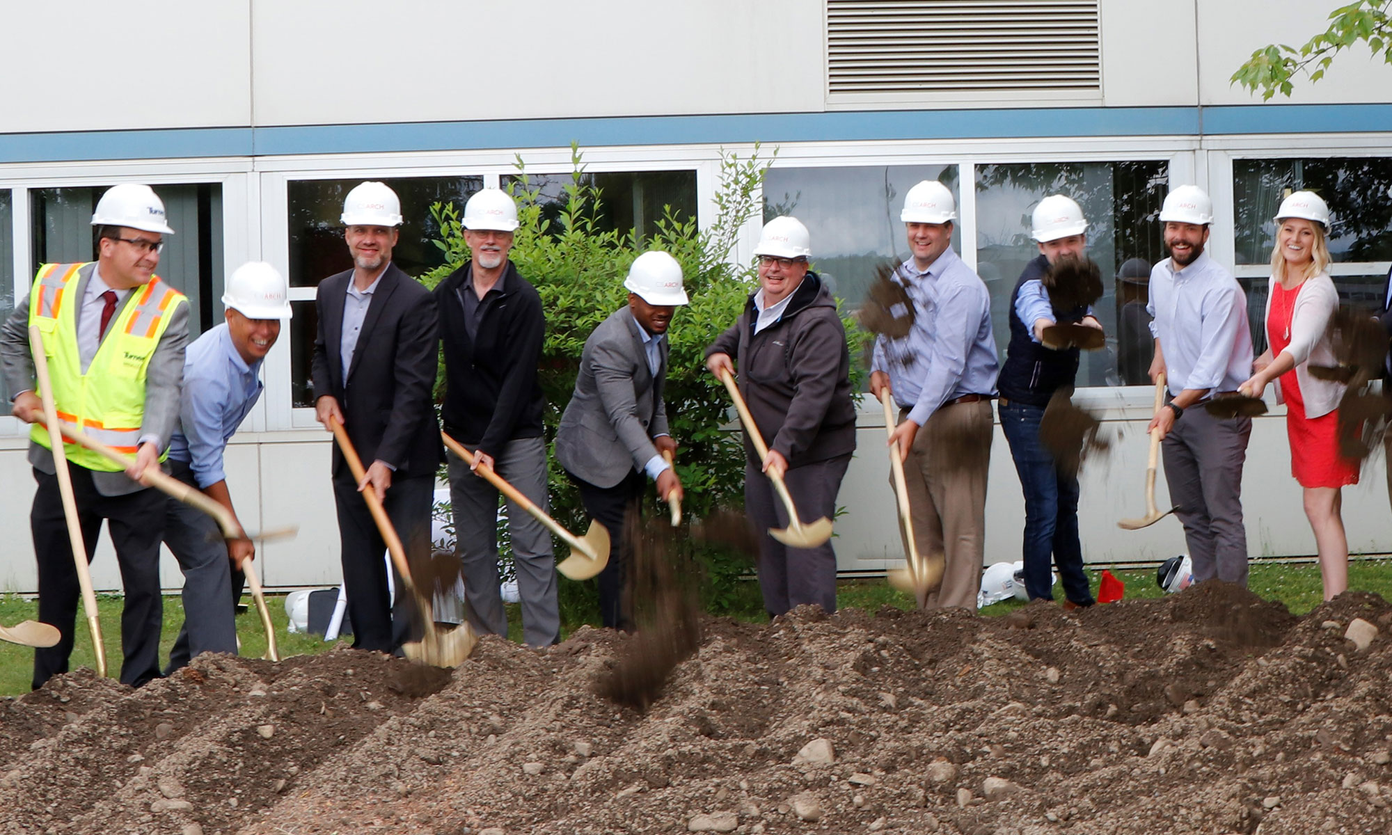 North Colonie CSD Breaks Ground on District-Wide Capital Project