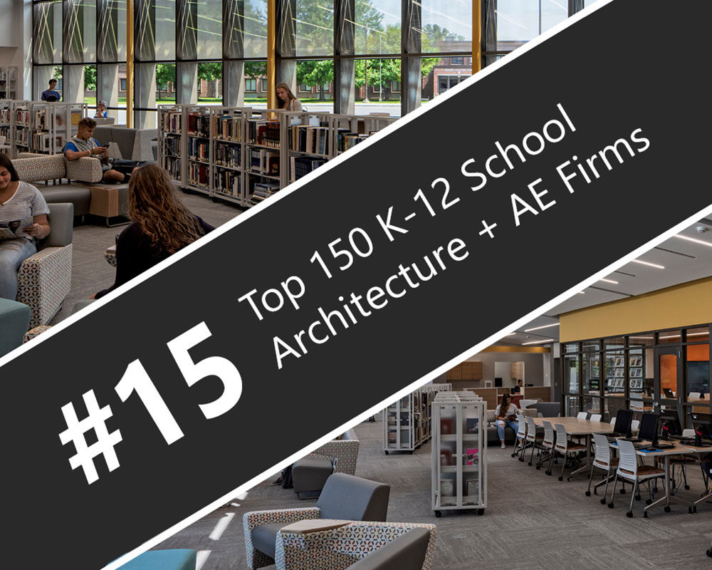 CSArch Among Top 20 National K-12 School Architecture Firms