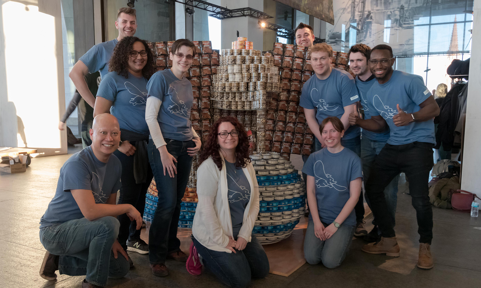 CSArch Wins Best Signage Award For CANstruction Poster